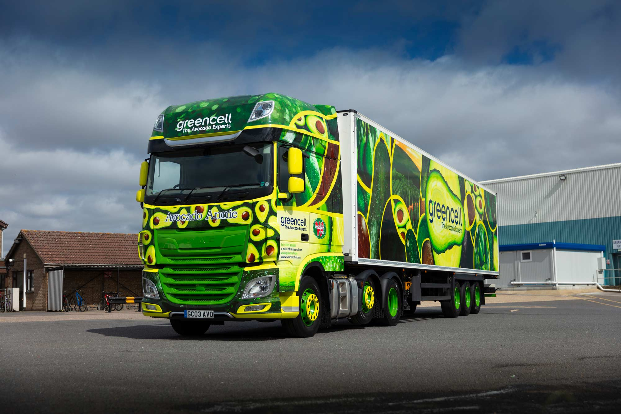 Greencell Lorry