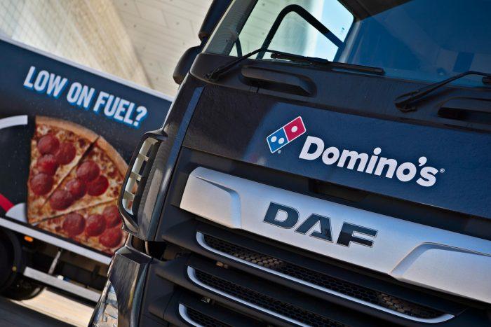 Dominos Lorry