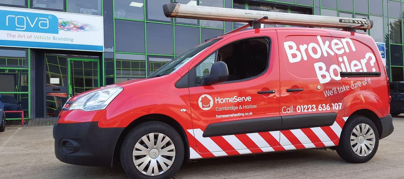 Fleet Branding HomeServe