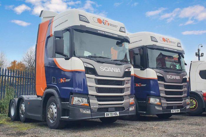 Howard Tenens lorry